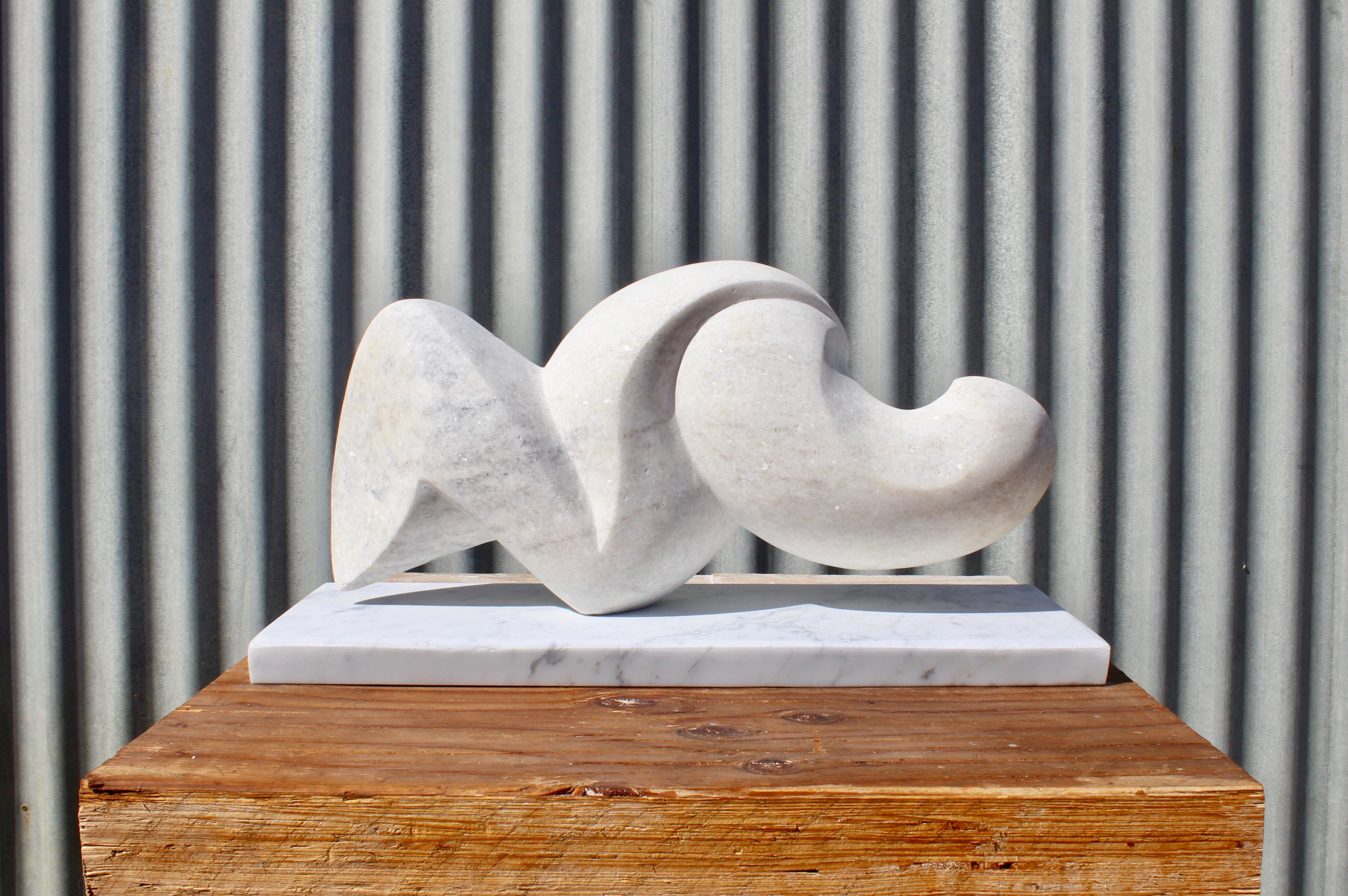 marble sculpture, fine art, abstract sculpture, marble