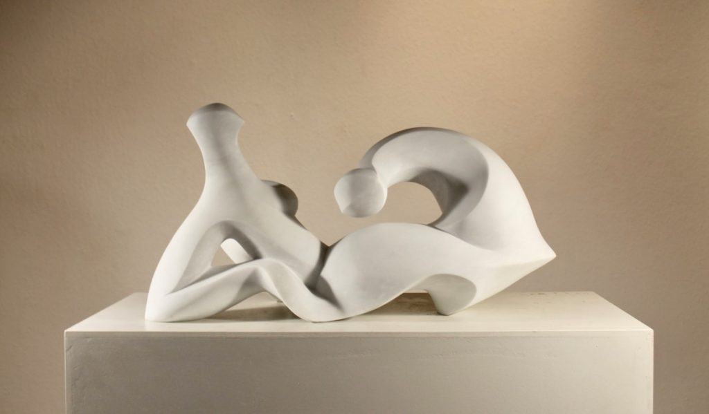 Henry Moore, marble sculpture, white marble, statuario marble, art collector, hand carving, marble, art, sculpture, exhibition