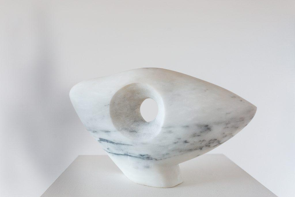 Sculpture, white Italian Statuario marble, White Carrara Marble, art, art collector, exhibition