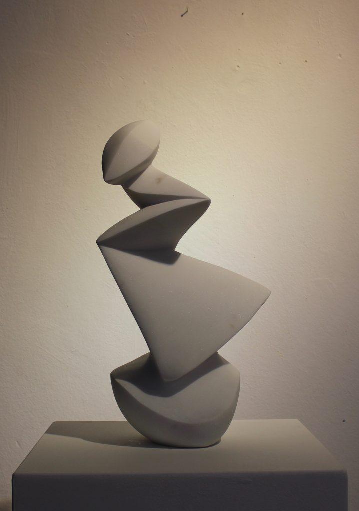 Sculpture, statuario marble, art, exhibiton, Amsterdam art, Carrara Marble, white marble, italian sculptor
