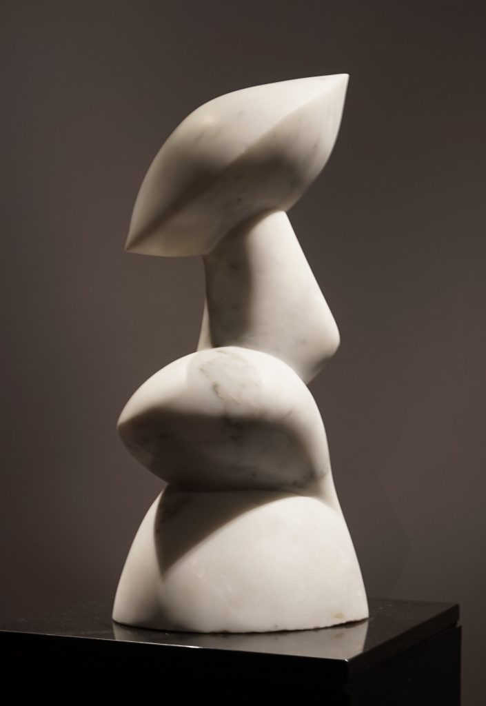 Sculpture, White Carrara Marble, Statuario marble, italian sculpture, contemporary art, art collector, art hong kong
