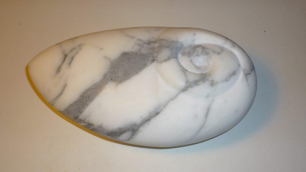 Sculpture, art, art collector, paris art, exhibition, White Carrara Marble